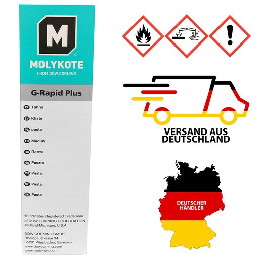 Molykote G-Rapid Plus 50g Tube