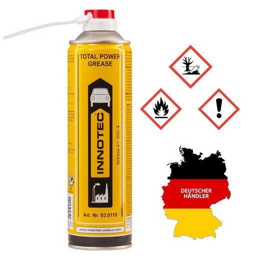 Innotec Total Power Grease Fett Sprühdose 500 ml